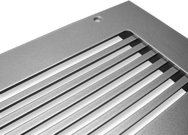 Linear Return Grilles : Return air grilles metal and wood
