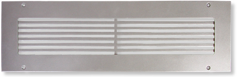 Custom Size Return Air Grille : Industrial warehouse air grille